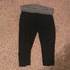 Yoga pants capris